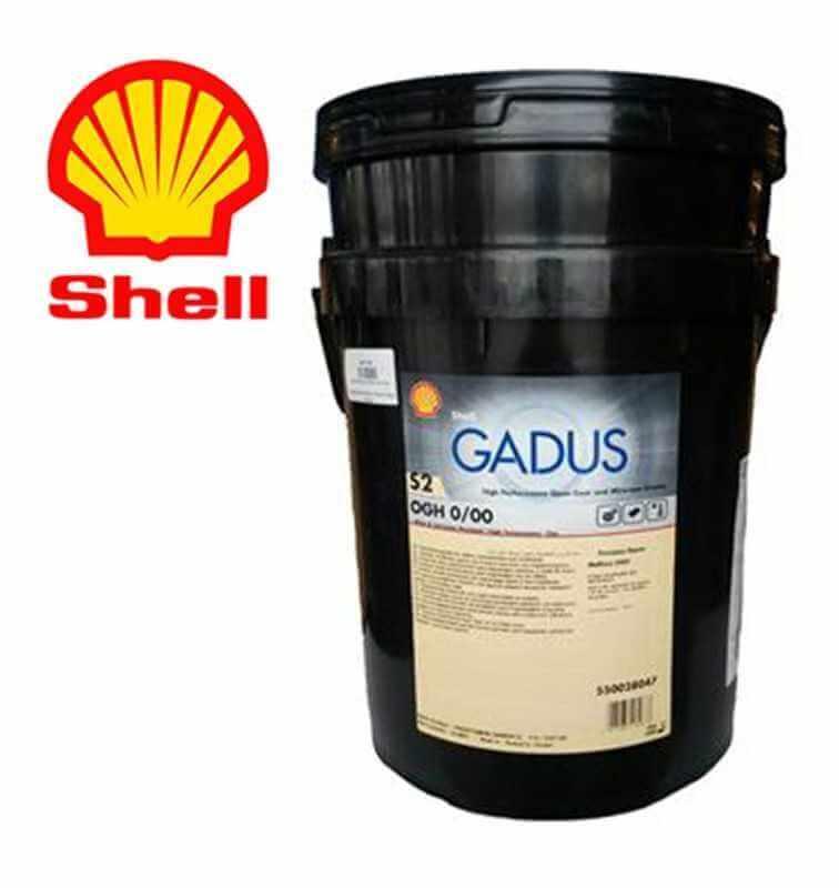 Shell Gadus S2 OGH 0/00 Secchio 18 kg.
