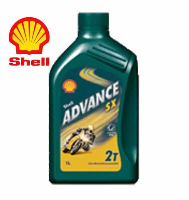 Shell Advance SX2 2T Predl -Motorcycle Mineral Engine Latta da 1 litro