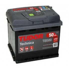 Starter battery TUDOR code TB500 50 AH 450A