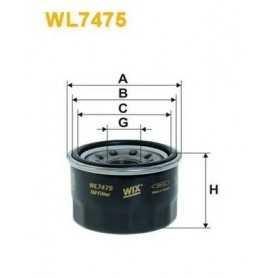 Filtro carburante WIX FILTERS codice WF8251