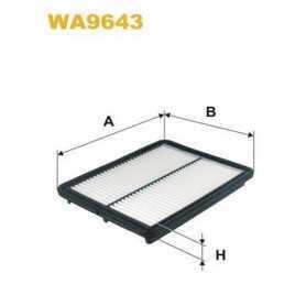 Filtro aria WIX FILTERS codice WA6728
