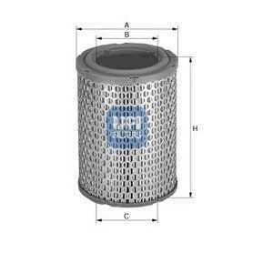 Filtro aria UFI codice 27.273.00