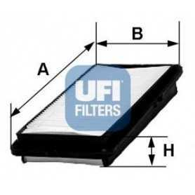 Filtro aria UFI codice 30.269.00