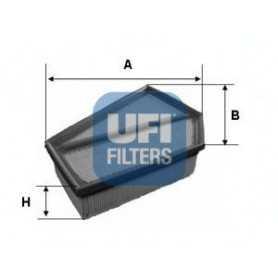 Filtro aria UFI codice 30.349.00