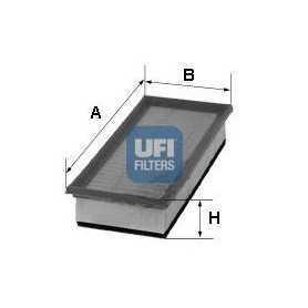 Filtro aria UFI codice 30.376.00
