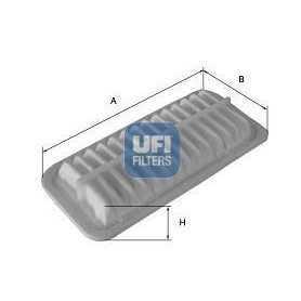 Filtro aria UFI codice 30.550.00
