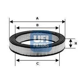 UFI air filter code 30.943.00