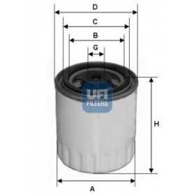 UFI-Kraftstofffiltercode 24.321.00