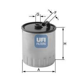 Código de filtro de combustible UFI 24.429.00