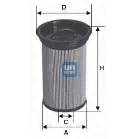 UFI-Kraftstofffiltercode 26.005.00