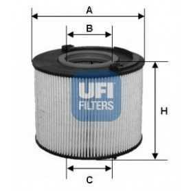 Filtro carburante UFI codice 26.015.00