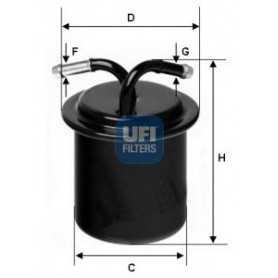 Código de filtro de combustible UFI 31.541.00