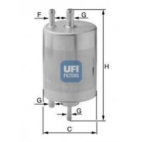 Filtro carburante UFI codice 31.841.00
