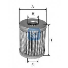 Filtro carburante UFI codice 46.005.00