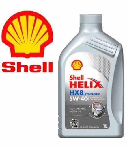 Shell Helix HX8 5W-40 1 Litro