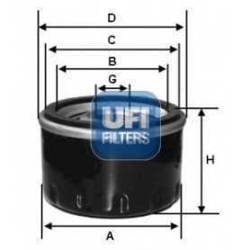 UFI-Ölfiltercode 23.584.00