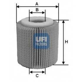 Filtro de aceite UFI código 25.056.00
