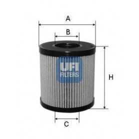 Filtro olio UFI codice 25.060.00