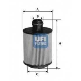 Filtro olio UFI codice 25.061.00