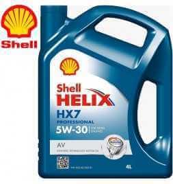 Shell Helix HX7 Professional AV 5W-30 (C3, VW 505.01) Latta da 4 litri