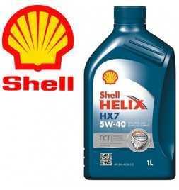 Shell Helix HX7 ECT 5W-40 (C3, 229.31, Fiat 95535-S2) Latta da 1 litro