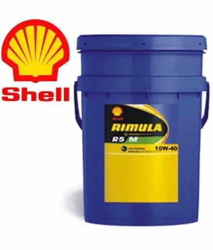 Shell Rimula R5 M 10W40 E4 228.5 Secchio da 20 litri