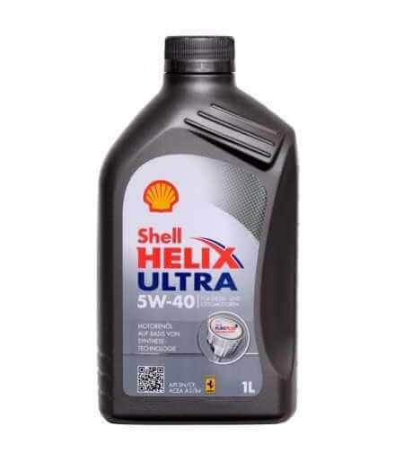 Shell Helix Ultra 5W40 (SN/CF/A3/B4) Lattina da 1 Litro