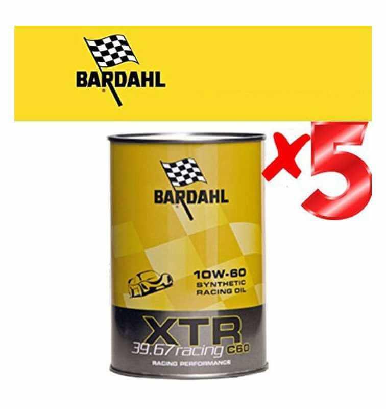 Olio  Motore Auto- XTR 39.67 Racing c60 10W-60 -formulato per motori racing o di elevata potenza - Offerta 5 Litri