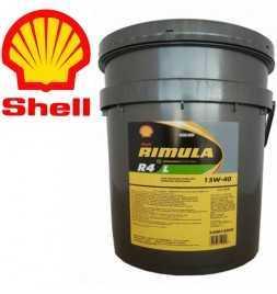 Shell Rimula R4 L 15W40 CJ4 Secchio da 20 litri