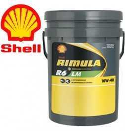 Shell Rimula R6LM 10W40 E7 228.51 Secchio da 20 litri