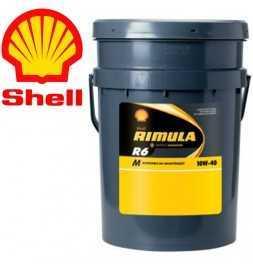Shell Rimula R6M 10W40 E7 228.5 Secchio da 20 litri