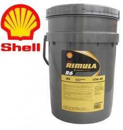 Shell Rimula R6MS 10W40 E7LDF3 Secchio da 20 litri