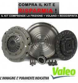 VOLANO + KIT FRIZIONE Valeo 4 Pezzi - Ford Focus 1.8TDCi Kw 74 Cv 100