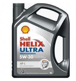 Shell Helix Ultra Professional AP-L 5W-30 (C2, PSA B71 2290, Fiat 955535 S1) Latta da 4 litri