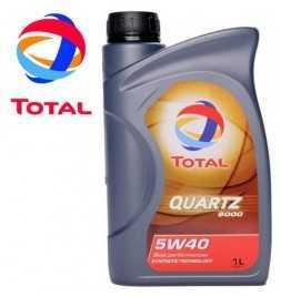 Olio Motore Total QUARTZ 9000 ENERGY 5W-40 Latta da 1 Litro