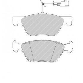 Kit plaquettes de frein FERODO code FDB1052