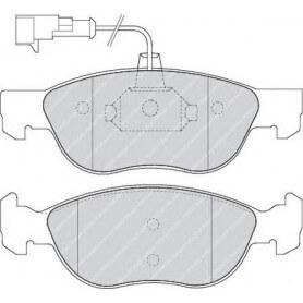 Kit plaquettes de frein FERODO code FDB1056