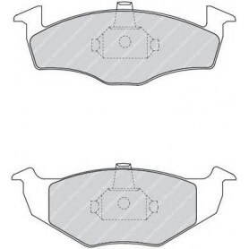 FERODO Bremsbeläge Kit Code FDB1101