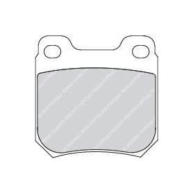 Bremsbelagsatz FERODO-Code FDB1117