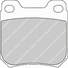 Bremsbelagsatz FERODO-Code FDB1117B