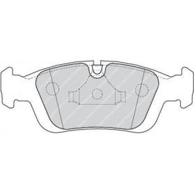 Kit plaquettes de frein FERODO code FDB1300