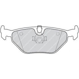 Kit plaquettes de frein FERODO code FDB1301
