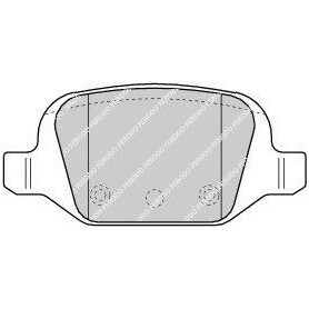 Brake pads kit FERODO code FDB1324