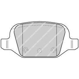 Kit plaquettes de frein FERODO code FDB1324