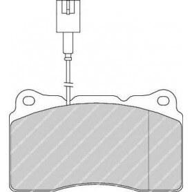 Kit plaquettes de frein FERODO code FDB1334