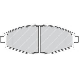 Kit plaquettes de frein FERODO code FDB1337