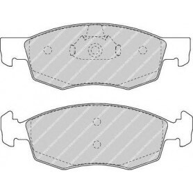 Bremsbelagsatz FERODO-Code FDB1376