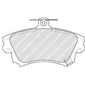 Brake pads kit FERODO code FDB1384