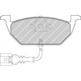 Brake pads kit FERODO code FDB1398