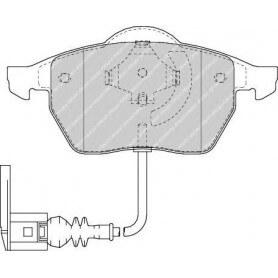 Brake pads kit FERODO code FDB1463